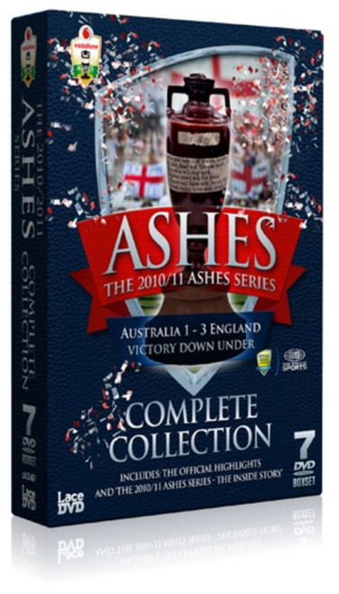 The Ashes Series 2010/2011: Complete Collection (Limited Edition Box Set) [DVD]