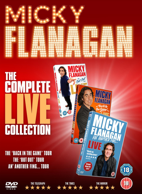 Micky Flanagan: The Complete Live Collection (2017) (Box Set) [DVD]