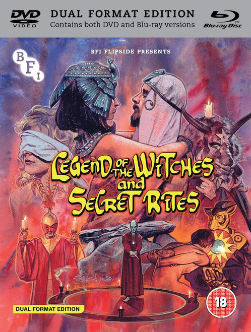 Legend of the Witches/Secret Rites (1971) (with DVD - Double Play) [Blu-ray] [Blu-ray / with DVD - Double Play]