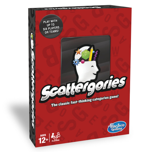 Scattergories Game [Board Game]