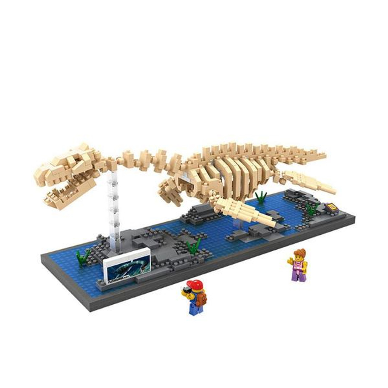 Plesiosaur bricks model