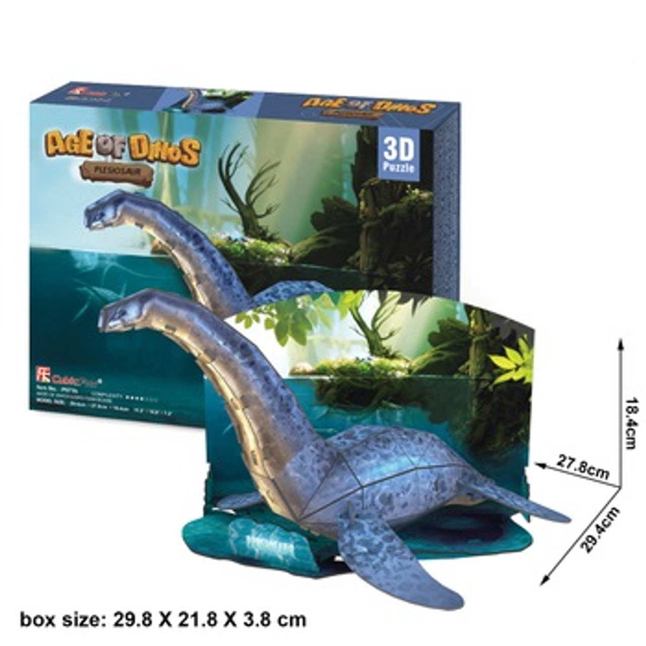 Plesiosaur model kit