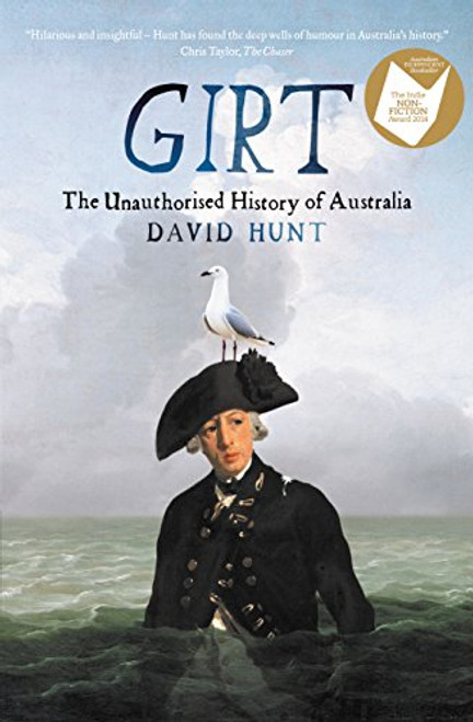 8837 THE UNAUTHORISED HISTORY OF AUSTRALIA - DAVID HUNT