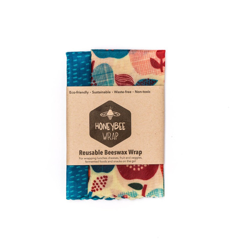 Reusable Beeswax Wrap Twin Pack (Medium)