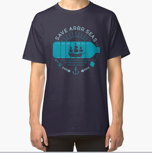8998 T SHIRT SAVE ARRR SEAS