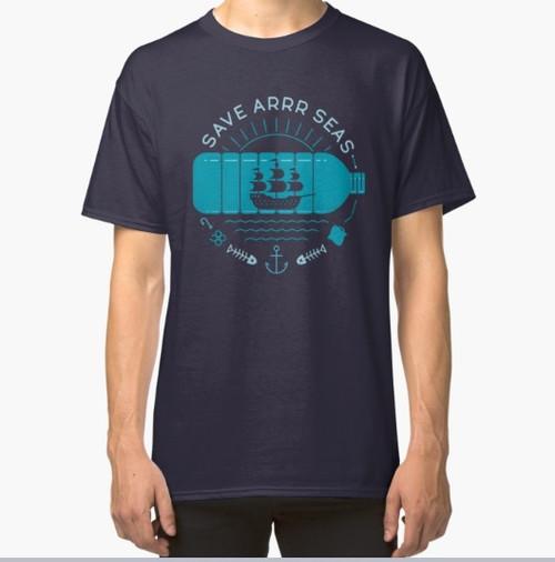 8998 T SHIRT SAVE ARRR SEAS
