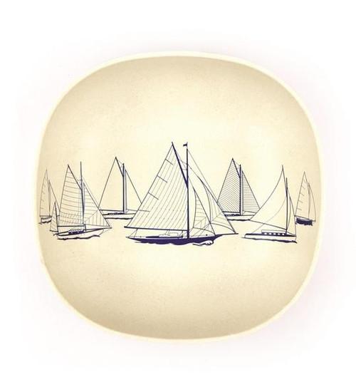 Bamboo Cereal Bowl - 'Sail Away' 15cm