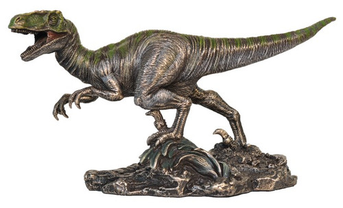 5383 Velicoraptor Bronze Model