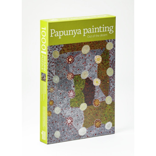 Jigsaw Puzzle - Papunya Painting (1000 piece)