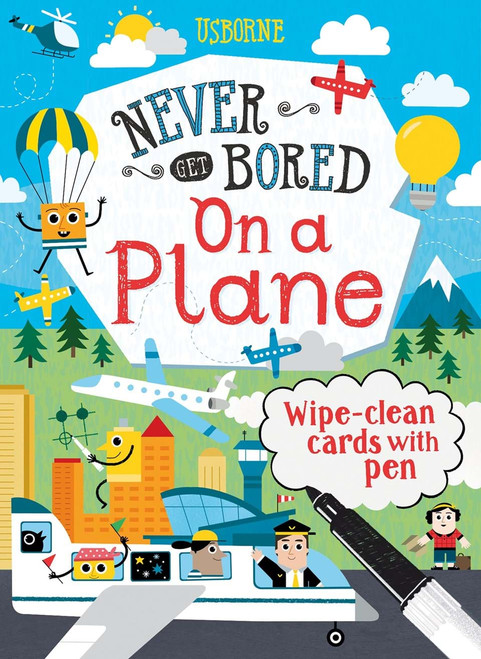 Never Get Bored On A Plane or Road Trip again!