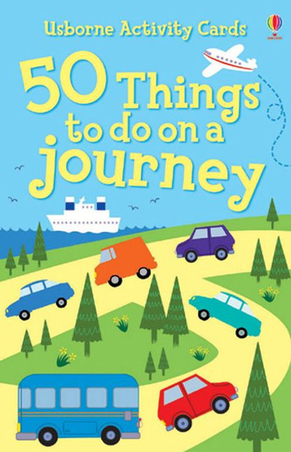 50 Things To Do On A Journey - beat the boredoms!