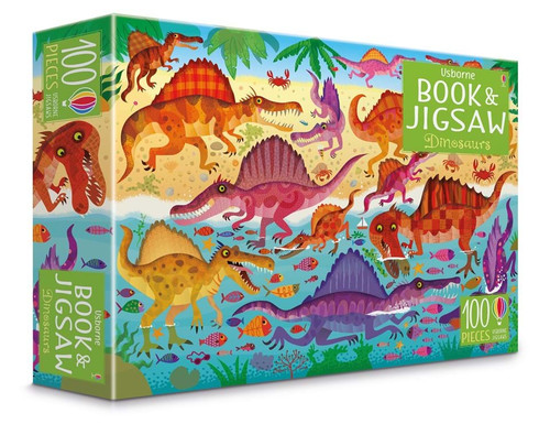 Dinosaurs Puzzle Book and Jigsaw (100 pieces)