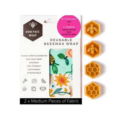 Reusable Beeswax Wrap DIY Kit