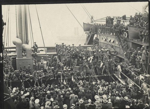 Farewell to the troopship ASCANIUS