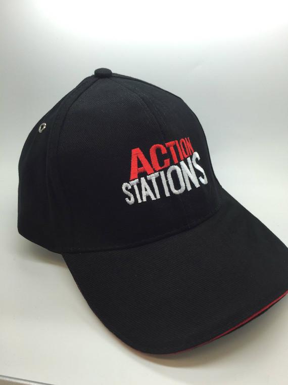 Baseball Cap - Action Stations (1980)