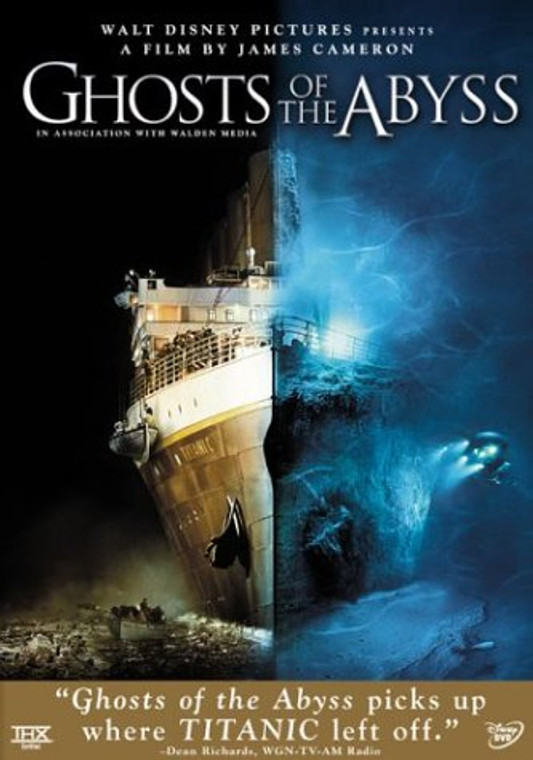 5662 DVD GHOSTS OF THE ABYSS