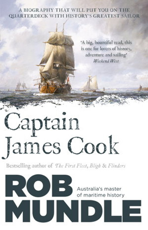 1329  Captain James Cook - Rob Mundle