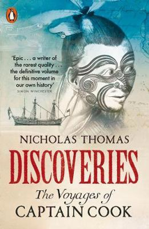 9780141986715  Discoveries: The Voyages of Captain Cook by Nicholas Thomas
