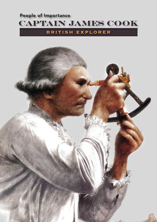 Captain James Cook: British Explorer (7871)