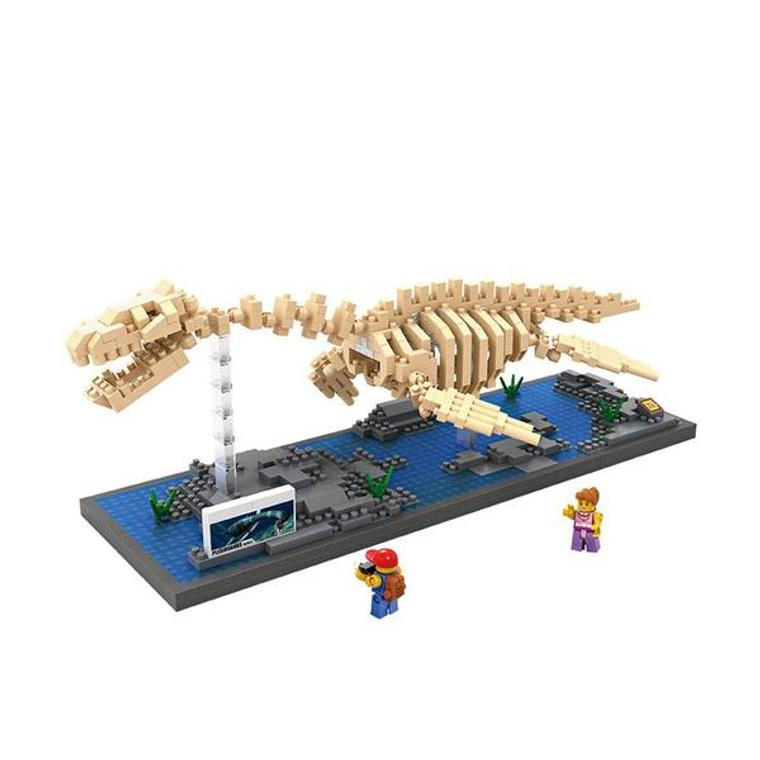 4143 Plesiosaurus bricks model
