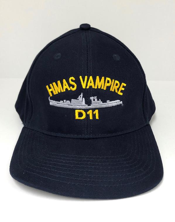 Baseball Cap - HMAS Vampire (D11) (201)