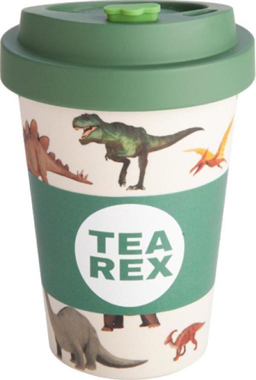 EcoGo Bamboo Travel Cup - Tea Rex