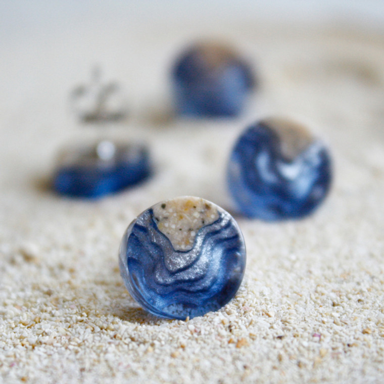 BoldB Shoal Stud Earrings - Ultramarine (2627)