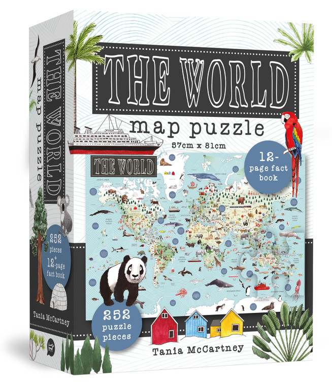 The World Map Jigsaw Puzzle (6164)