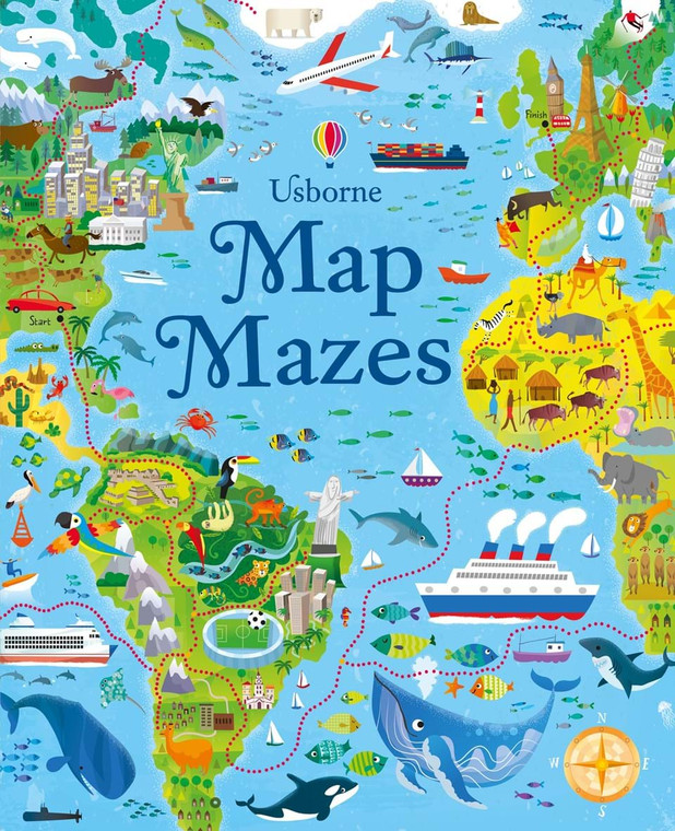 Map Mazes Puzzle Book (993)