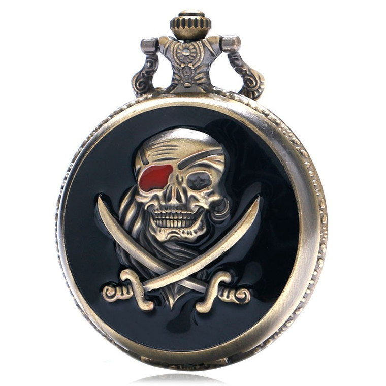 Pocket Watch - Pirate (7748)