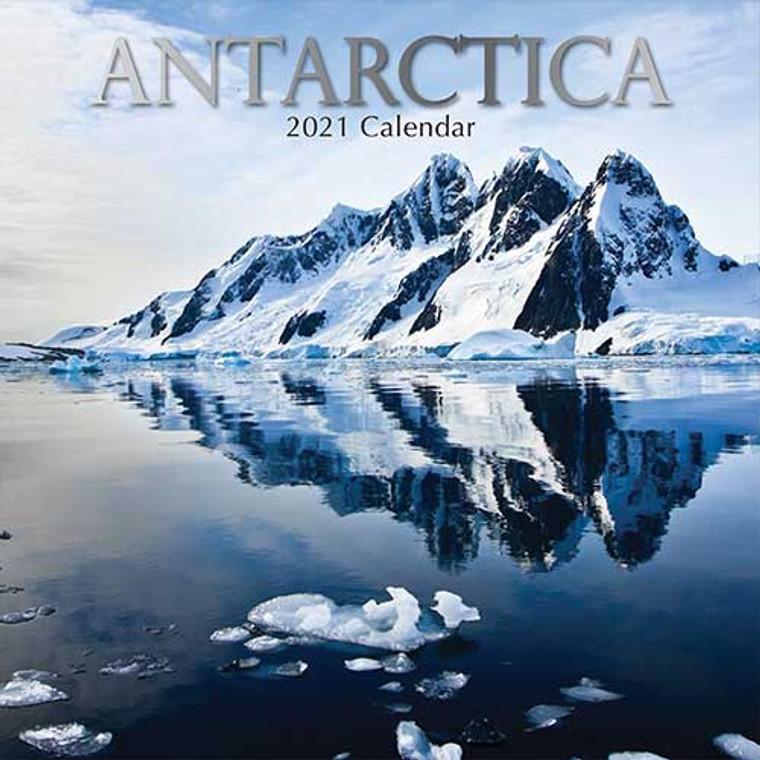 2021 Calendar - Antarctica (16-Months) (9103)