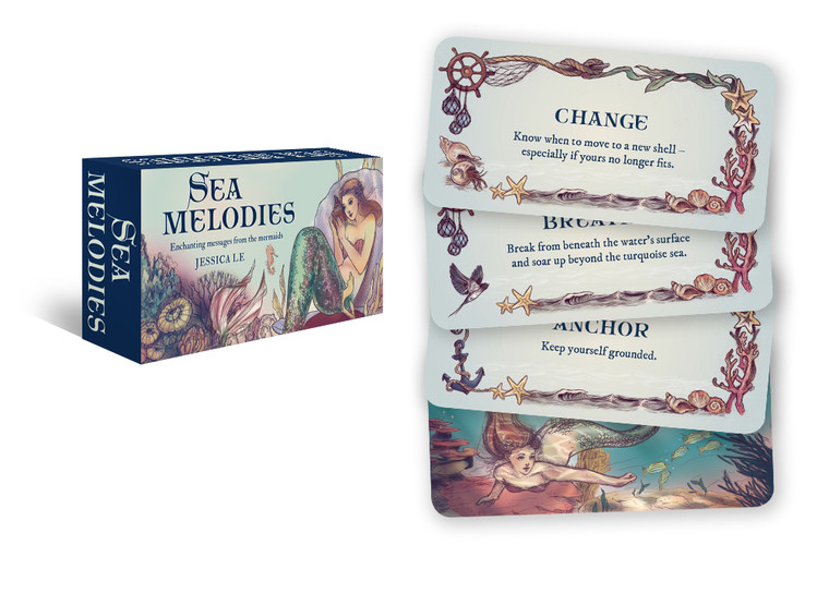 Sea Melodies: Enchanting Messages From The Mermaids (Card Set) (8245)