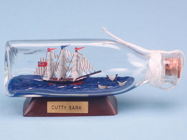 Cutty Sark Ship-in-Triangular-Bottle (12cm) (2939)