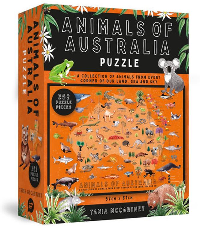 Animals of Australia Jigsaw Puzzle (252-Piece) (6160)