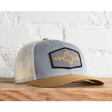 Texas Us Snapback Cap-Birch/Cream