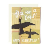 Retirement Birds Card