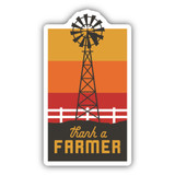 Thank A Farmer Sticker