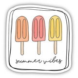 Summer Vibes Sticker`