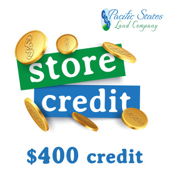 400 $ Store Credit