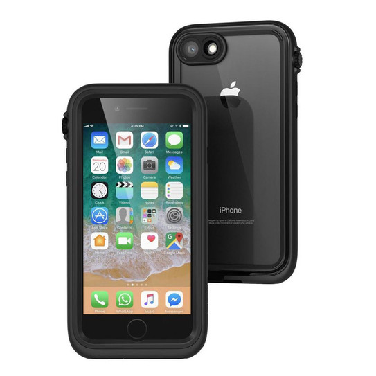 low priced 0ea29 2d801 Catalyst Waterproof Case for iPhone 8/7 - Stealth Black