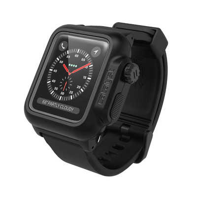 online retailer d9f08 b9752 Catalyst Waterproof Case Apple Watch Series 3/2, 42 mm - Stealth Black