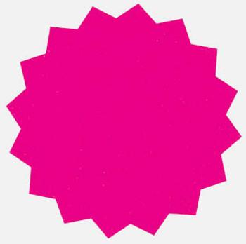 18 Fluorescent Star Shapes 128mm