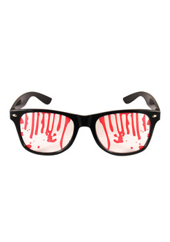 Adult Austin Glasses With Blood Clear Lens