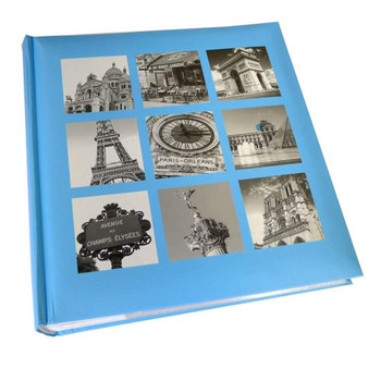 Kenro Paris montage design memo photo album - holds 200 photographs / 6x4 inch