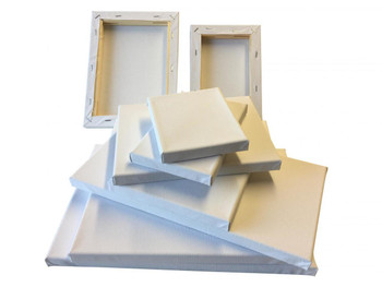Stretched Mini Canvas Wooden Frame 280gsm 10x12cm