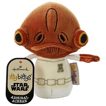 Admiral Akbar Star Wars Itty Bittys Plush Soft Toy 4.75 Inches
