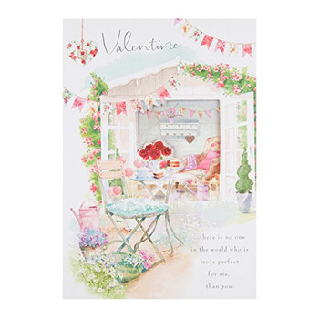 Hallmark Traditional Open New Valentine's Day Card 'Perfect For Me' - Medium