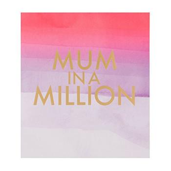 "Hallmark 25496574 Mother's Day Card""Mum in A Million"" - Medium"