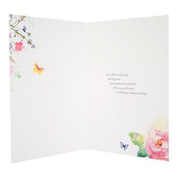 "Hallmark 25496712 Mother's Day Card""Happiness"" - Medium"