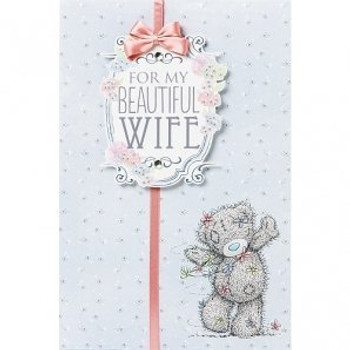 For My Beautiful Wife Me to You Bear Mothers Day Card